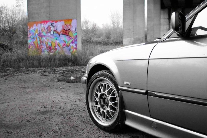 Graffiti in colour.